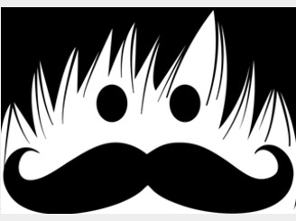 Bangs & Moustache by ChinLapastora