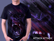 attack attack T-Shirt Design by
