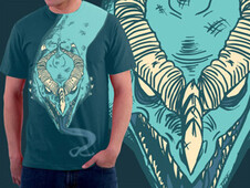 Dragon Tongue T-Shirt Design by