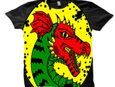 year of the dragon T-Shirt Design by