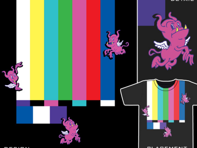 test pattern creatures