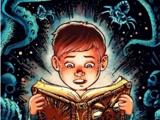 KIDS, DON'T READ NECRONOMICON! by wagnogueira
