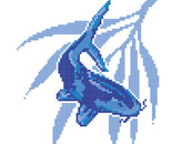 8 Bit Fish by redmunky