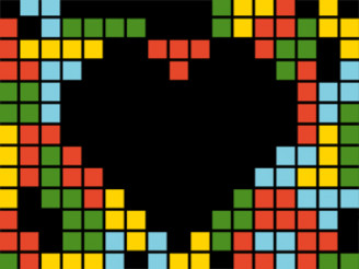 WE LOVE TETRIS by tagla