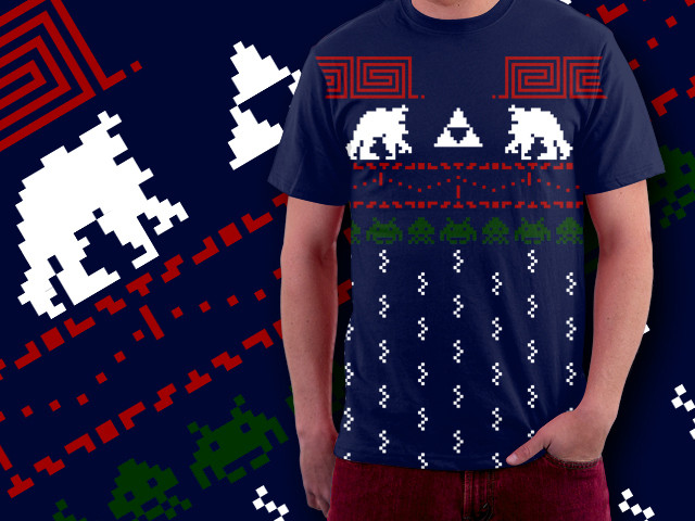 Holiday Sweater Pixels
