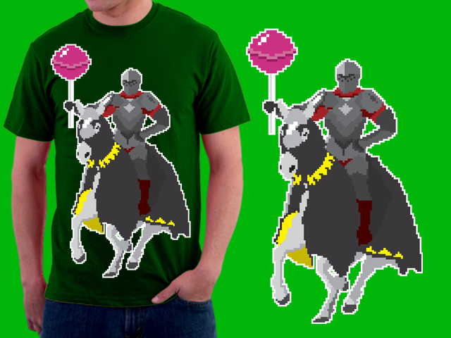Knight of the lollipop