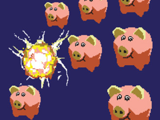 pigs invaders by geoconta