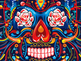 Mexican Skull by FLYDESIGN