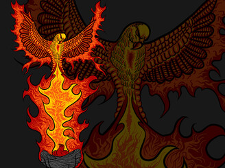 Phoenix Rising by heavyprints
