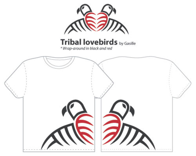 Tribal lovebirds