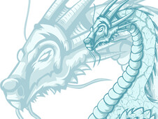 Ice Dragon T-Shirt Design by