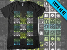 DNA Message T-Shirt Design by