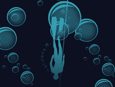 Freediving T-Shirt Design by