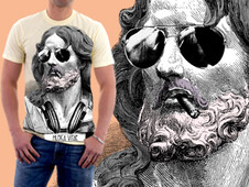 MUZICA VITAE FOREVER T-Shirt Design by