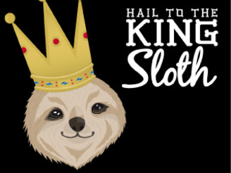 King Sloth by yoximar
