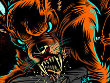 Awaiting the Sabretooth T-Shirt Design by