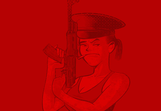 The GUN GIRL
