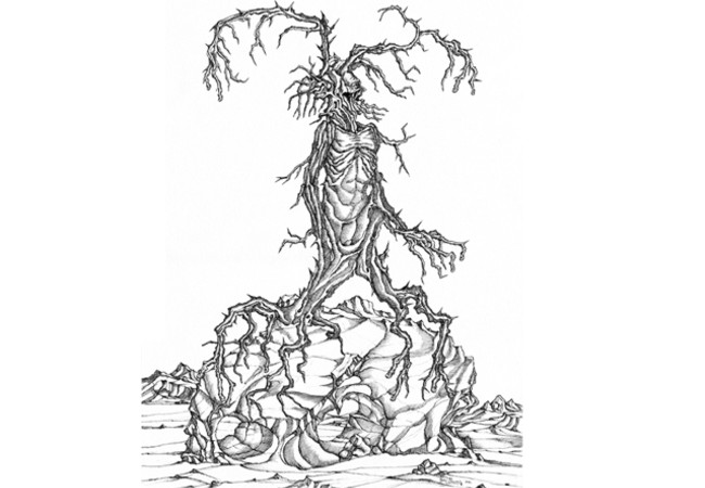La rabbia dell'uomo albero - The anger of treeman