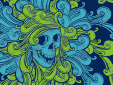 Medusa swirl T-Shirt Design by