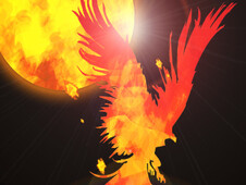 Birth Of The Phoenix T-Shirt Design by