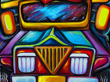 jeepney joyride 2 T-Shirt Design by