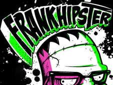 Frankhipster T-Shirt Design by