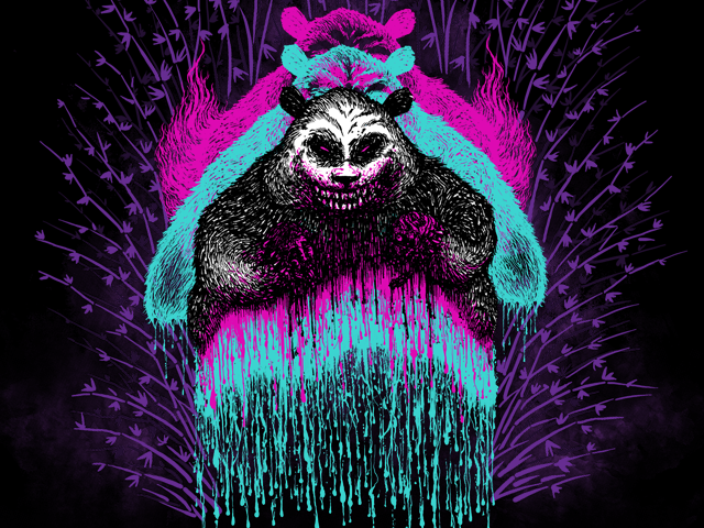 Possessed Panda