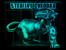 Stealing Cheddar T-Shirt Design by