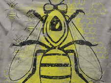 Bees T-Shirt Design by