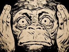 3 wise monkeys T-Shirt Design by