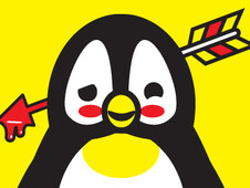 Frustrating Penguin T-Shirt Design by