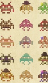 Fashionable Invaders by igo2cairo