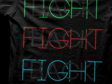 Fight Back T-Shirt Design by
