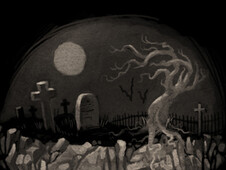 Graveyard T-Shirt Design by