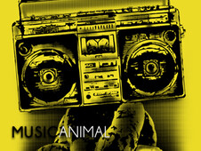 MusicAnimal T-Shirt Design by