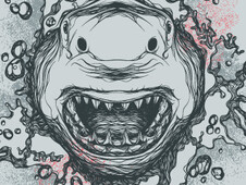 shark T-Shirt Design by