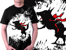 Red Hood Ride T-Shirt Design by