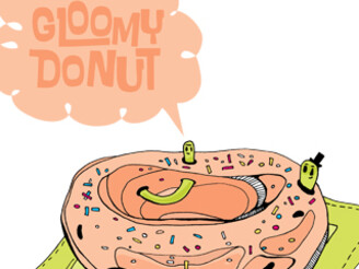 Gloomy donut by chili