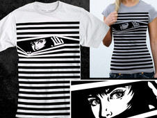 Behind the stripes T-Shirt Design by