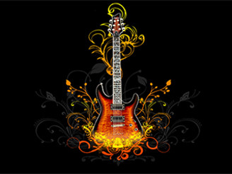 Guiter by Sajad