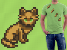 8-bit sprites T-Shirt Design by