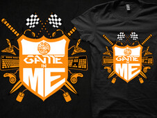 Game in ME T-Shirt Design by