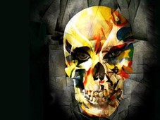 skull of picasso T-Shirt Design by