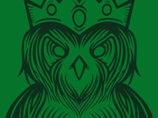 King owl T-Shirt Design by
