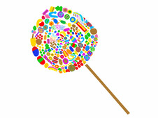 lollipop T-Shirt Design by