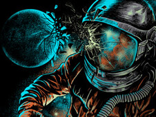 space impact T-Shirt Design by