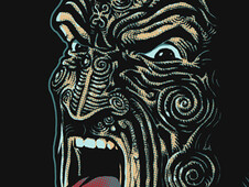 Maori Warrior T-Shirt Design by