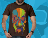 Skull Pop Art by deyaz