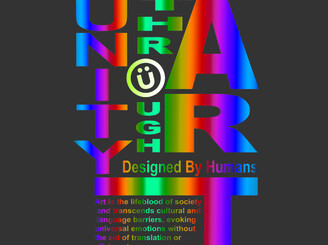 Unity Through Art ,  Designed By Humans by roncruz