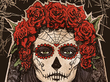 Lady of the Dead T-Shirt Design by